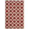 Safavieh Cambridge 5-ft x 8-ft Rectangular Orange Geometric Area Rug