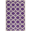 Safavieh Cambridge 5-ft x 8-ft Rectangular Purple Geometric Area Rug