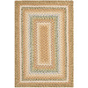 Safavieh Braided 30-in x 60-in Rectangular Brown Transitional Accent Rug