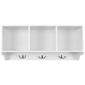 Safavieh 33.5-in W x 14.5-in H x 9.1-in D Wood Wall Mounted Shelving