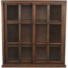 Safavieh American Home Walnut 40.2-in 3-Shelf Bookcase