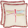 Safavieh 2-Piece 18-in W x 18-in L Beige/Multi Square Indoor Decorative Complete Pillows