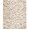 Safavieh Studio Leather Grey Rectangular Indoor Woven Lodge Area Rug (Common: 8 x 10; Actual: 96-in W x 120-in L x .42-ft Dia)