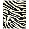 Safavieh 6-ft x 9-ft Black Stripes Area Rug