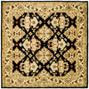 Safavieh Heritage 6-ft x 6-ft Square Black Transitional Area Rug