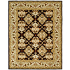 Safavieh Heritage Rectangular Brown Transitional Tufted Wool Area Rug (Common: 4-ft x 6-ft; Actual: 4-ft x 6-ft)