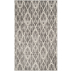 Safavieh Amherst Grey and Light Grey Rectangular Indoor and Outdoor Machine-Made Throw Rug (Common: 3 x 5; Actual: 36-in W x 60-in L x 0.42-ft Dia)