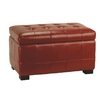 Safavieh Hudson Red Accent Bench
