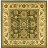 Safavieh 6-ft x 6-ft Green Kashan Area Rug