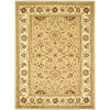 Safavieh Lyndhurst Beige and Ivory Rectangular Indoor Machine-Made Area Rug (Common: 6 x 9; Actual: 72-in W x 96-in L x 0.58-ft Dia)