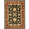 Safavieh 6-ft x 9-ft Black Kashan Area Rug