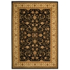 Safavieh Lyndhurst Black and Ivory Rectangular Indoor Machine-Made Area Rug (Common: 8 x 11; Actual: 96-in W x 132-in L x 0.58-ft Dia)