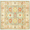 Safavieh Heritage 8-ft x 8-ft Square Blue Transitional Area Rug