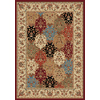 Safavieh Majestic 5-ft 3-in x 7-ft 6-in Rectangular Red Floral Area Rug