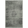 Safavieh Vintage Spruce and Ivory Rectangular Indoor Machine-Made Throw Rug (Common: 2 x 3; Actual: 24-in W x 36-in L x 0.33-ft Dia)
