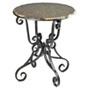 Safavieh American Home Black Birch Round End Table