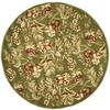 Safavieh Lyndhurst 7-ft x 7-ft Round Green Transitional Area Rug