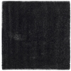 Safavieh California Shag 6-ft 7-in x 6-ft 7-in Square Black Solid Area Rug