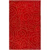 Safavieh 5-ft x 8-ft Red Modern Floral Area Rug