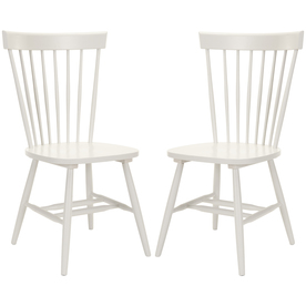 Safavieh Set of 2 American Home Gray Dining Chairs