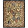 Safavieh Heritage Multicolor and Burgundy Rectangular Indoor Tufted Area Rug (Common: 10 x 13; Actual: 104-in W x 162-in L x 1.17-ft Dia)