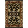 Safavieh Heritage Black and Red Rectangular Indoor Tufted Area Rug (Common: 4 x 6; Actual: 48-in W x 72-in L x 0.5-ft Dia)