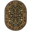 Safavieh Heritage 4-ft 6-in x 6-ft 6-in Oval Black Transitional Area Rug