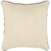 Safavieh 2-Piece 18-in W x 18-in L Wheat Square Indoor Decorative Complete Pillows