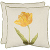 Safavieh 2-Piece 18-in W x 18-in L Golden Honey Square Accent Pillow