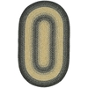 Safavieh Braid 36-in x 60-in Oval Black Transitional Accent Rug