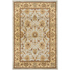 Safavieh Lyndhurst 6-ft x 9-ft Rectangular Gray Floral Area Rug