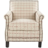 Safavieh Mercer Tan Club Chair