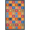 Safavieh Metropolis Rectangular Blue Geometric Woven Area Rug (Common: 5-ft x 8-ft; Actual: 5.25-ft x 7.91-ft)