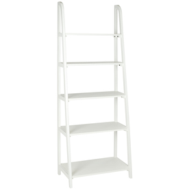 Safavieh American Home White 72.2-in 5-Shelf Bookcase