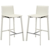 Safavieh Fox White 30-in Bar Stool