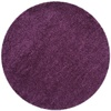 Safavieh California Shag 4-ft x 4-ft Round Purple Solid Area Rug