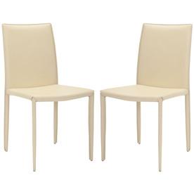 Safavieh Set of 2 Fox Creme Side Chairs