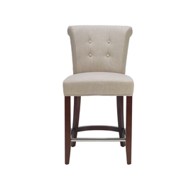 Safavieh Hudson Beige 26-in Counter Stool