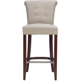 Safavieh Hudson Beige 30-in Bar Stool