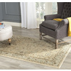 Safavieh Florenteen Ivory and Grey Rectangular Indoor Machine-Made Area Rug (Common: 5 x 8; Actual: 61-in W x 91-in L x 0.5-ft Dia)