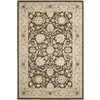 Safavieh Florenteen 63-in x 90-in Rectangular Brown/Tan Floral Area Rug