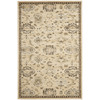 Safavieh Florenteen Ivory and Brown Rectangular Indoor Machine-Made Area Rug (Common: 5 x 8; Actual: 61-in W x 91-in L x 0.5-ft Dia)