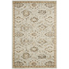 Safavieh Florenteen 63-in x 90-in Rectangular Gray/Silver Floral Area Rug