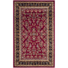 Safavieh Lyndhurst 27-in x 48-in Rectangular Red Floral Accent Rug