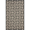 Safavieh Four Seasons 3-ft 6-in x 5-ft 6-in Rectangular Black Geometric Indoor/Outdoor Area Rug