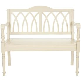 Safavieh American Home Distressed White Indoor Entryway Bench