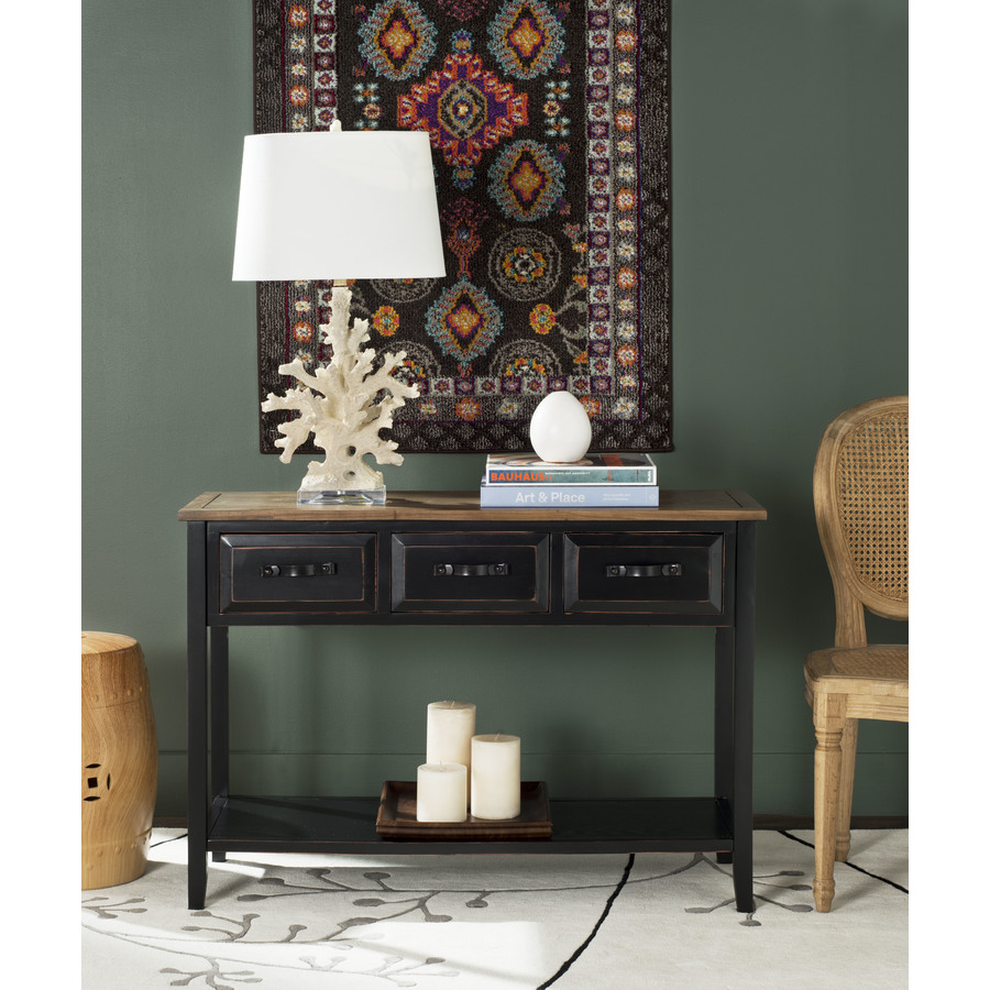 Shop Safavieh American Home Black Walnut Pine Rectangular