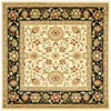 Safavieh 8-ft x 8-ft Ivory Kashan Area Rug