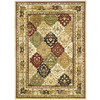 Safavieh 6-ft x 9-ft Multicolor Panel Area Rug