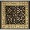 Safavieh 8-ft x 8-ft Black Sarouk Area Rug